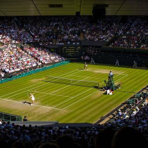 London Polygraph Examiner, strawberries and cream at Wimbledon